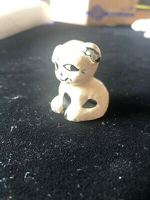 Antique cast iron pup paperweight Griswold or Hubley? Fido style dog old