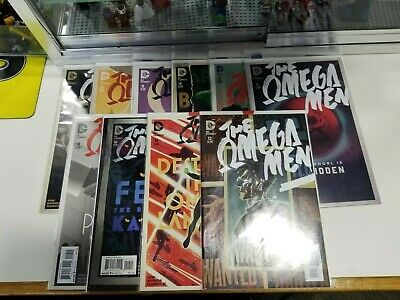DC The Omega Men Complete Run Set Lot of 10 Different Issues