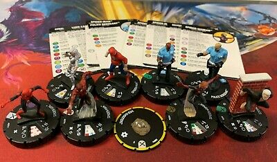 Spider-Woman 053a SR Marvel HeroClix: Earth X Spider-Man 037a Luke Cage 025 Lot