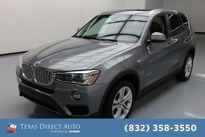 2017 BMW X3 xDrive35i Texas Direct Auto 2017 xDrive35i Used Turbo 3L I6 24V Automatic AWD SUV Moonroof