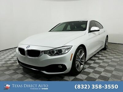 2016 BMW 4-Series 435i Texas Direct Auto 2016 435i Used Turbo 3L I6 24V Automatic RWD Hatchback Premium