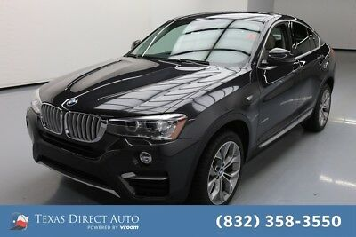 2016 BMW X4 xDrive28i Texas Direct Auto 2016 xDrive28i Used Turbo 2L I4 16V Automatic AWD SUV Premium