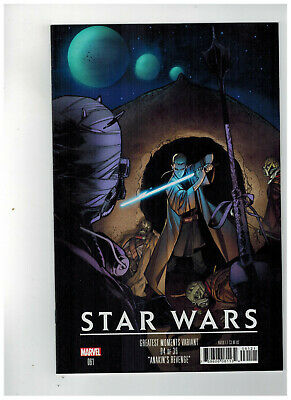 STAR WARS #61 1st Printing - Greatest Moments Variant Cover / 2019 Marvel Comics