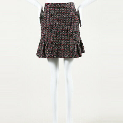 5dd0e6973e RED VALENTINO MINI skirt flare black - $103.00 | PicClick