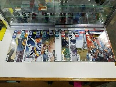 Sideways DC New Age of Heroes Complete Run Set Lot of 11 Different Issues