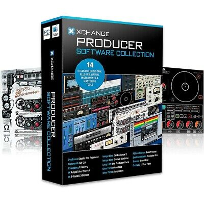 XCHANGE Producer Collection w/Presonus, Cakewalk, IK Multimedia, Image Line