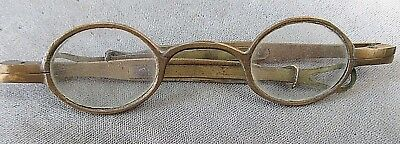 Antique EyeGlasses Brass Spectacles End Loops Extenders Early Vintage Victorian