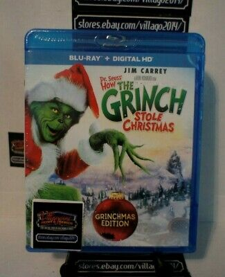 How the Grinch Stole Christmas   NEW Blu-ray FREE SHIPPING!!!