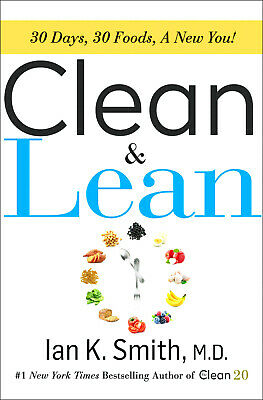 Clean & Lean by Ian K. Smith M.D  🔥 delivery By Email🔥
