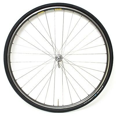 Mavic Open 4 CD 700c Alloy Clincher FRONT Wheel Road Tour Bike Shimano HB-6400