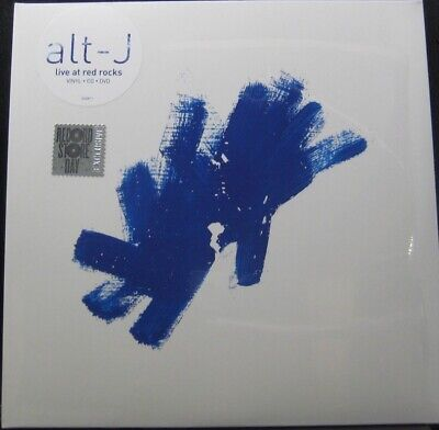 Alt-J - Live At Red Rocks New Sealed RSD Blue Vinyl  2 LP W/ CD & DVD