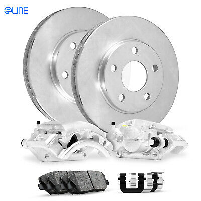 Front Ceramic Brake Pad Set /& Rotor Kit for 2002-2003 Kia Sedona