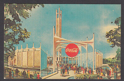 1964-1965 Coca-Cola Pavilion, New York World's Fair Postcard