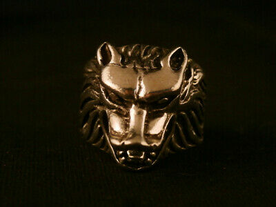 Chinese Silver *Wolf* Ring E101