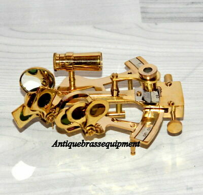 Unique Collection German Antique Nautical Brass Marine Sextant Reproduction Gift