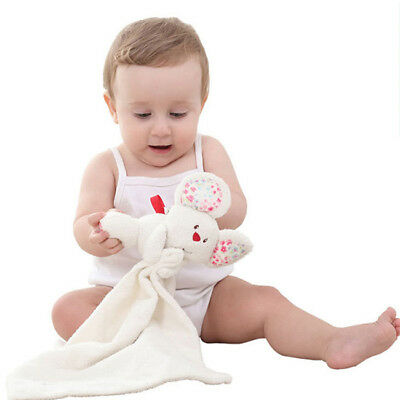 Security Blanket Baby Appease Towel Play Rabbit Doll Baby Toddler Comforter B