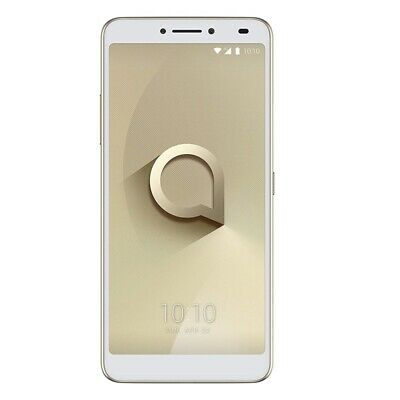 Alcatel 3V (5099D) Dual-SIM Smartphone FullView Display Fingerabdrucksensor gold