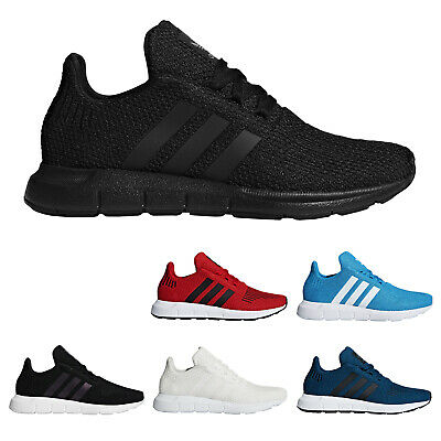 Adidas Swift Run Textile Lightweight Running Low-Top Youth Trainers