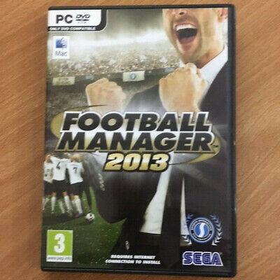 Football Manager 2013 PC & Mac Media But Licence MAY NOT Activate on Steam