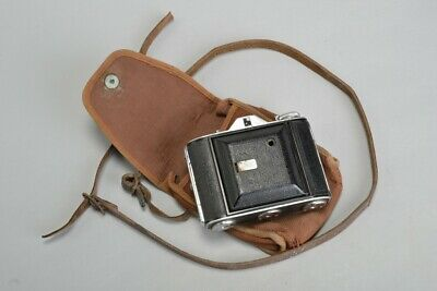Early C20th Ensign Selfix 1620 Cased Camera. MOQ