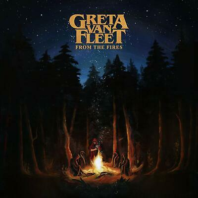From The Fires Greta Van Fleet Audio CD Lava Music Roc Pop BEST SELLING