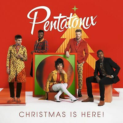 Christmas Is Here! by PentatonixPop RCA Records  Audio CD *GREAT CONDITION*