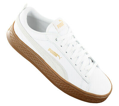 beceec2c8a02bc NEW Puma Smash Platform Leather 366487-02 Women`s Shoes Trainers Sneakers  SALE