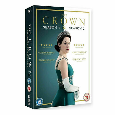 The Crown Season 1 & 2 Complete DVD Brand New Sealed UK Fast & Free Post