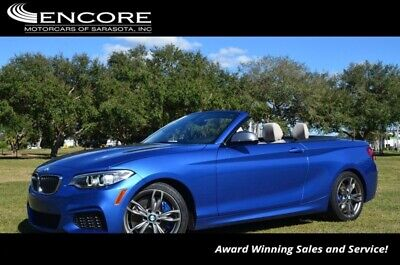 2016 BMW 2-Series M235i Convertible W/Technolgy and Cold Weather Pac 2016 2 Series Convertible 28,272 Miles With warranty-Trades,Financing & Shipping