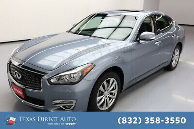 2018 Infiniti Q70 3.7 LUXE Texas Direct Auto 2018 3.7 LUXE Used 3.7L V6 24V Automatic AWD Sedan Bose