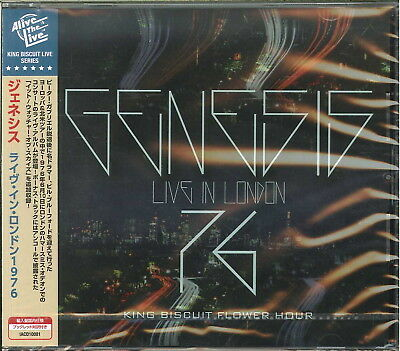 Genesis-Live In London 1976 King Biscuit Flower Hour-Import Cd F08
