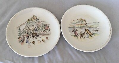 Winterling Bavaria Porcelain Heritage Quality Signed Saucers Dishes Germany