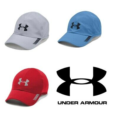 new product 6742f 71afb Under Armour Men s Launch ArmourVent Baseball Cap UA Adjustable Hat Color