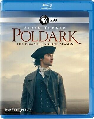 POLDARK COMPLETE SECOND SEASON 2 New Sealed Blu-ray 2015 TV Series Masterpiece