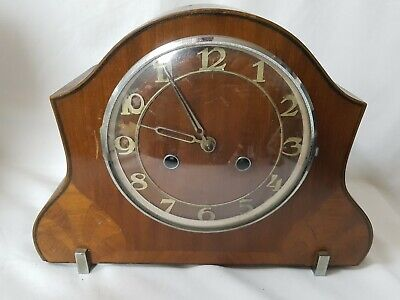 Vintage Art Deco Mantel Chiming Clock Spares Repairs For Restoration