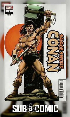 SAVAGE SWORD OF CONAN #1 PEREZ VARIANT (MARVEL 2019 1st Print) COMIC