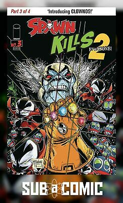 SPAWN KILLS EVERYONE TOO #3 COVER A MCFARLANE (IMAGE 2019 1st Print) COMIC