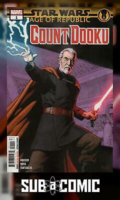 STAR WARS AOR COUNT DOOKU #1 (MARVEL 2019 1st Print) AGE OF REPUBLIC COMIC