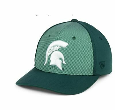 on sale 27d00 d7d00 Michigan State Spartans Top Of The World Snapback Hat Cap Mens