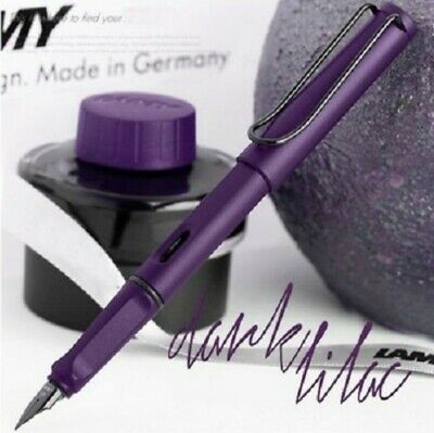 new colour nice office Pen Series F Nib Dark Purple green Busines Ink Pens Lilac