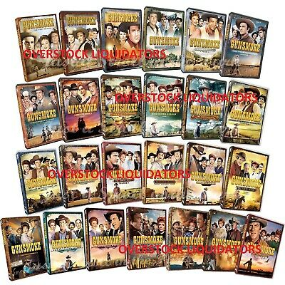 GUNSMOKE: Complete TV Series Seasons 1-13 DVD Set  NEW / Sealed