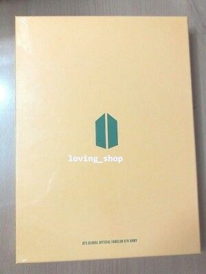 BTS Official Fanclub ARMY 5th Membership Kit New+ Sealed+Free Shipping+Tracking