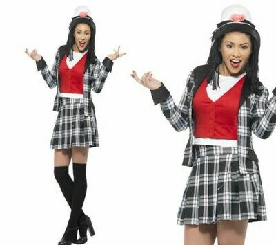 ADULTS CLUELESS COSTUME Ladies Dionne Fancy Dress TV Film Womans Outfit