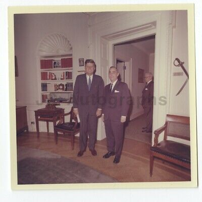 John F. Kennedy - 1963 Original Vintage Cecil Stoughton Personal Archive Photo
