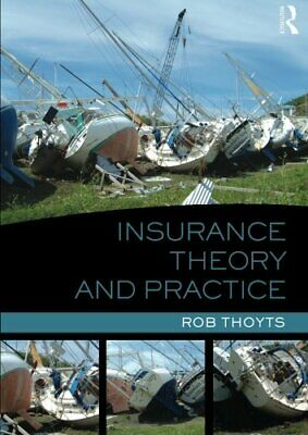 Insurance Theory and Practice NUEVO Brossura Libro  Rob Thoyts