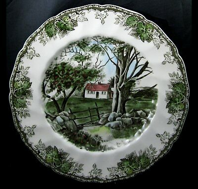 Johnson Bros Friendly Village Large Dinner Plate Stone Wall More Pieces Avail