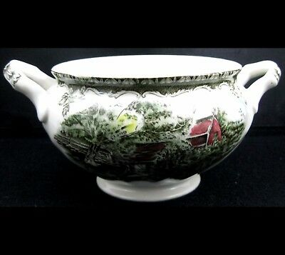 Johnson Bros Friendly Village Sugar Bowl No Lid More Pieces Avail Combined Ship