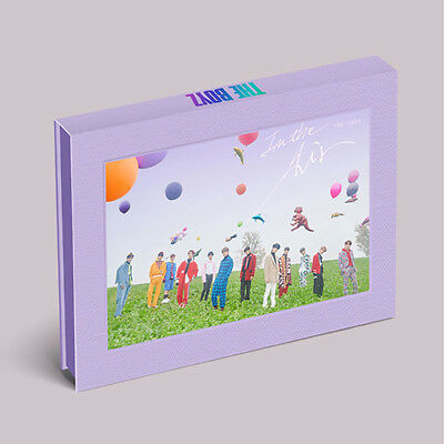 The Boyz 3rd Mini Album The Only,In The Air Ver. CD+P.Book+P.card+Film+Tracking