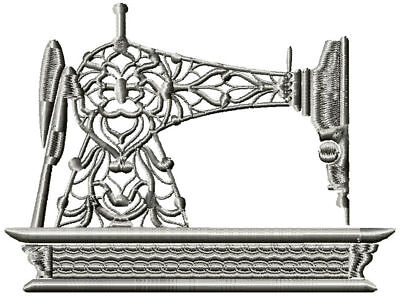 Sewing Machine 10 Machine Embroidery Designs Cd 3 Sizes