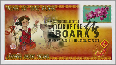 Chinese Lunar Year of the Pig - Boar 2019 First Day Cover #521